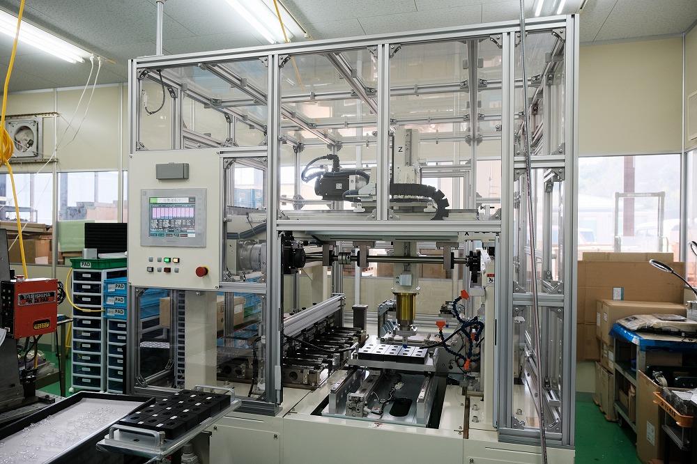 生産ラインの機械