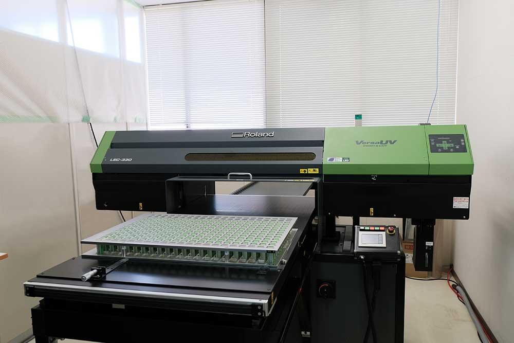 UVインクジェット印刷機械